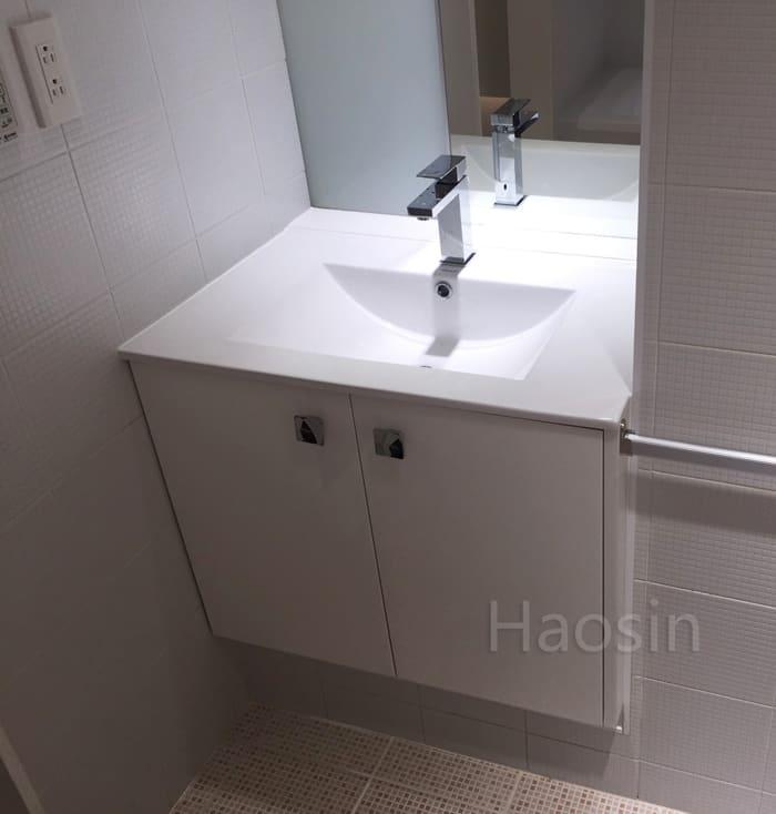 薄型方盆9075E-70/75/80cm多種尺寸 (可訂製浴櫃) | 昊鑫衛浴