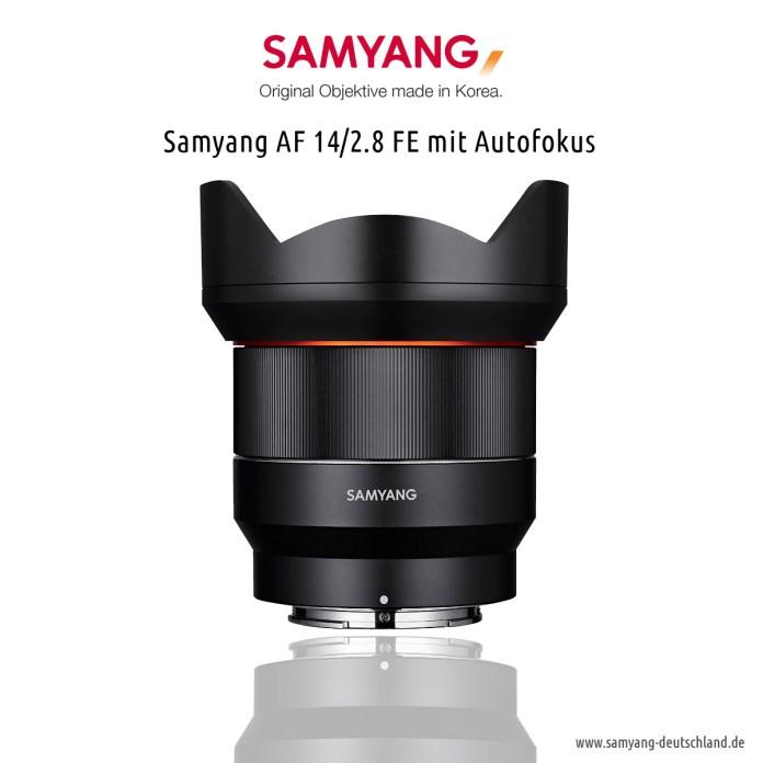 Samyang AF 14/2.8 FE mit Autofokus - Superweitwinkelobjektiv für das Sony Vollformat (FE Mount)