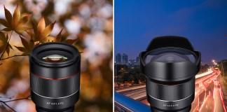 Autofokusobjektive Samyang