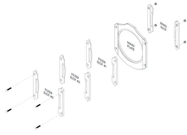 Cokin EVO ist ein modularer Filterhalter