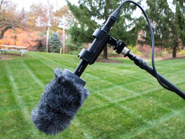 Azden SGM-250 – Richtrohrmikrofon. Universelles Mikrofon für anspruchsvolle Benutzer.