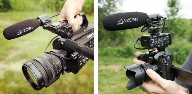 Ideal für kompakte Cinema-Kameras und spiegellose Systemkameras