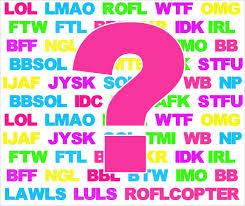 Facebook acronyms