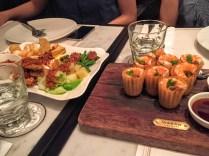 dinner in Singapore