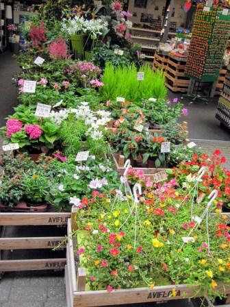 Bloemenmarkt wares