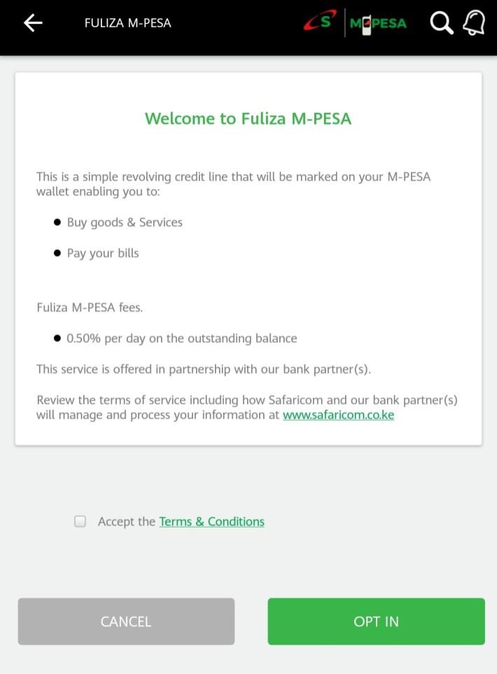 Safaricom Fuliza