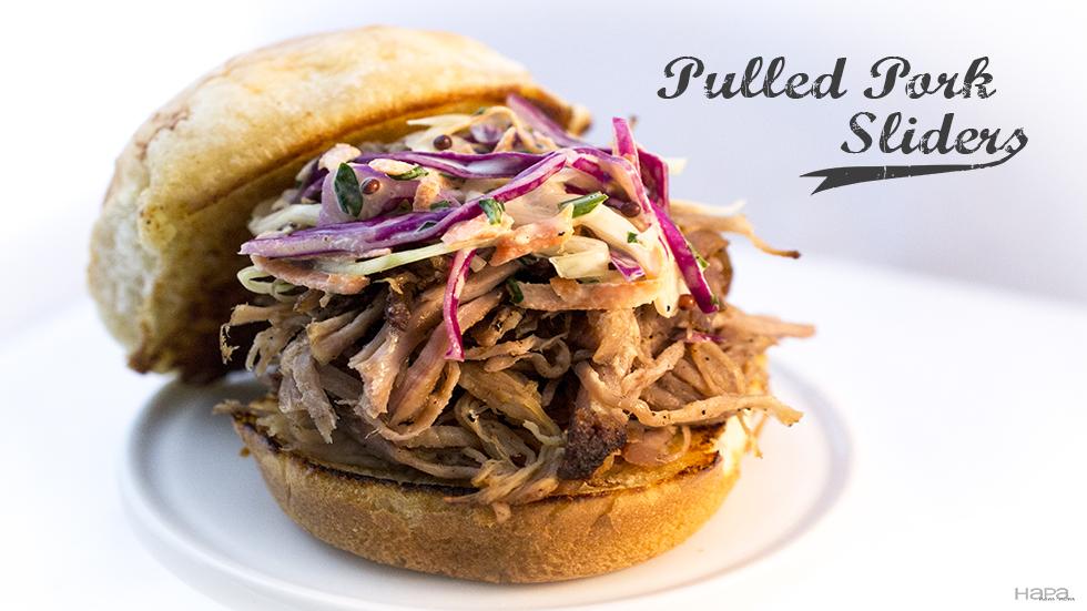 Slow Cooker Pulled Pork Sandwich