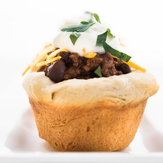 Buttermilk Biscuit Chili Cups