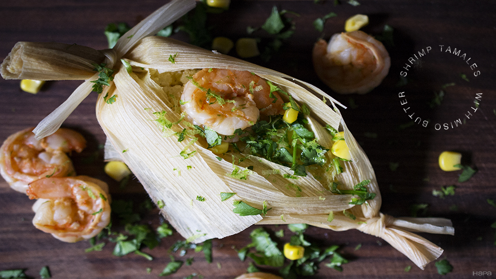 Shrimp and Corn Tamales