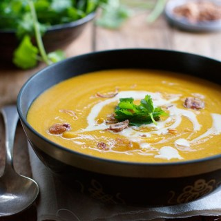 Thai Coconut Pumpkin Soup