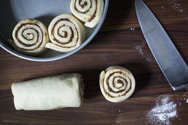 Cinnamon Rolls - Slice