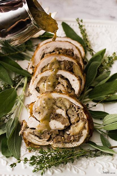 Turkey Roulade - Add Gravy