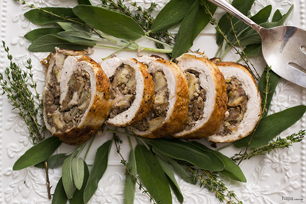Turkey Roulade - Recipe Banner