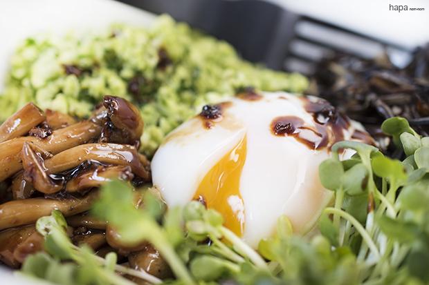 Edamame Rice Bowl Close up