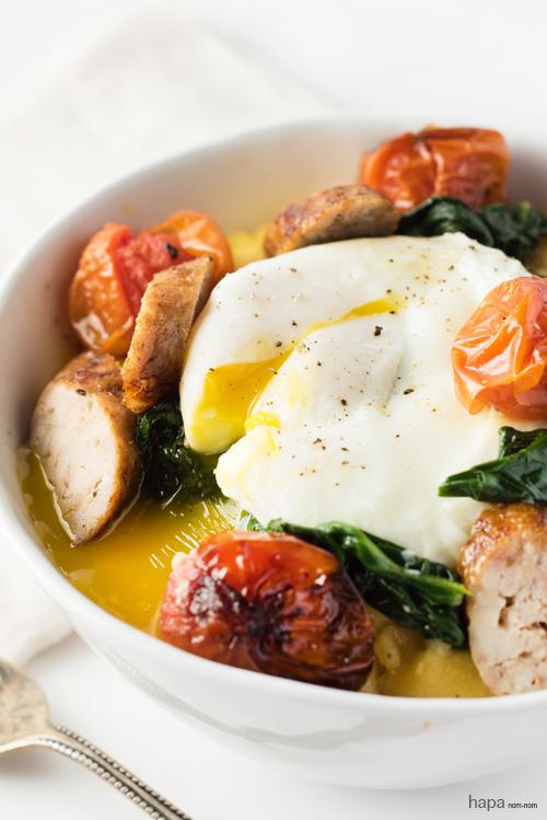 Healthy & Delicious - Polenta Breakfast Bowl