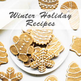Winter Holiday Recipes on Hapa Nom Nom