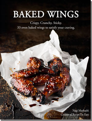 Truly Crispy Oven Baked Wings with Smoky Spicy Chipotle Dipping Sauce