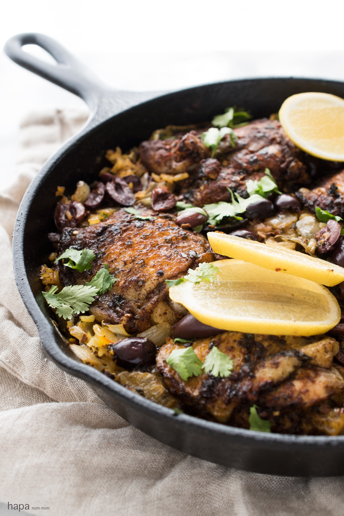 One pot moroccan chicken and rice one pot moroccan chicken and rice a ton of flavor and minimal clean up forumfinder