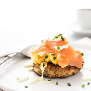 Irish Smoked Salmon and Egg Boxty