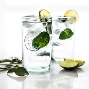Cool, refreshing, Kaffir Cooler - make it boozy or keep it virgin