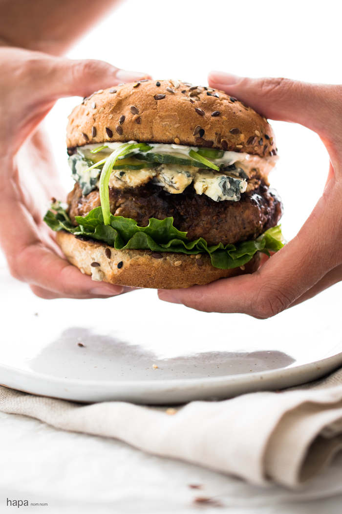 Perfect for summer grilling, these Teriyaki Burgers are juicy and loaded with flavor!