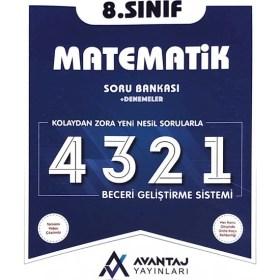 Avantaj Yayınları 8.Sınıf Matematik Soru Bankası + Denemeler