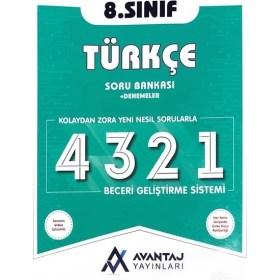 Avantaj Yayınları 8.Sınıf Türkçe Soru Bankası + Denemeler