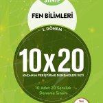 BLOKTEST 7.SINIF FEN BİLİMLERİ 10×20 KAP DENEME (1.DNM)