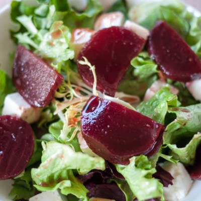 Salad with Pickled Beets & Feta