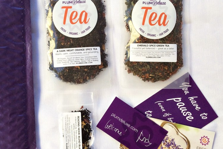Plum Deluxe: Monthly Tea Club