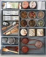 Organize drawers to allow for maximum storage space [source]