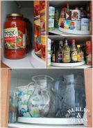 Use a lazy susan to make all your spices accessible [source]