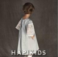 Минимальное украшение с проверенным рукавом для девочек UNLABEL fashion 2017