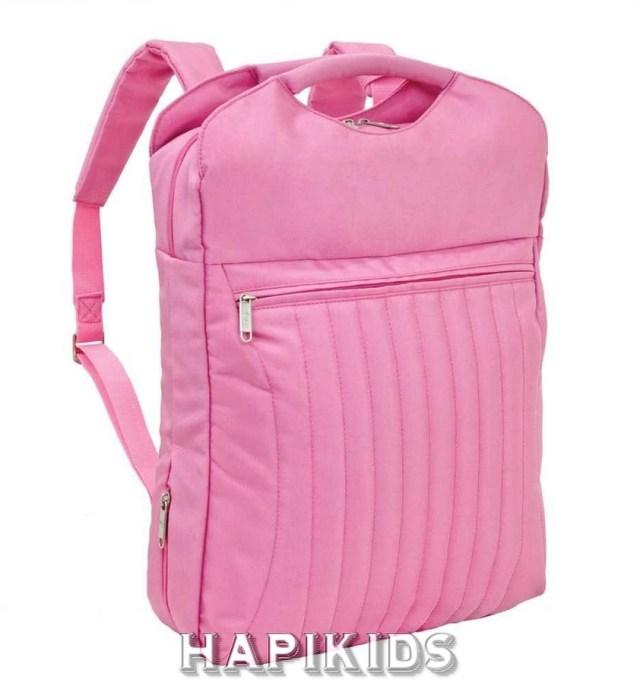 Розовый Puffy Ноутбук Рюкзак