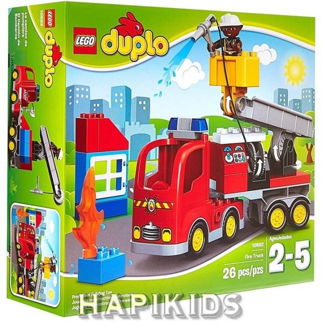 LEGO Городская пожарная машина
