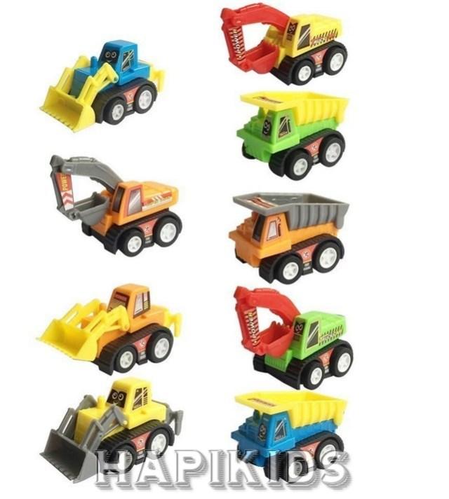 Мини-комплект строительных автомобилей