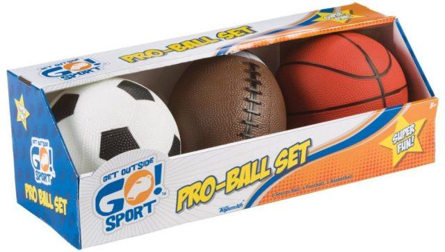 Toymith Get Outside GO! Pro-Ball Set