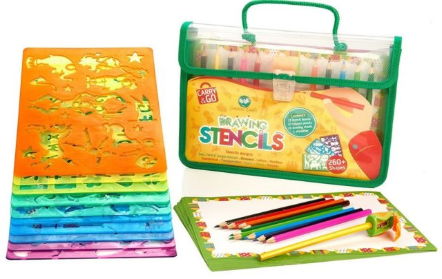 Artiv 'Craft Large Drawing Stencils Art Set