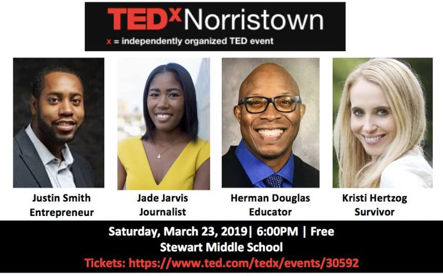 TEDx Norristown 2019 – MARCH 23rd