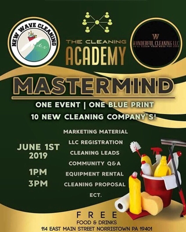 The Cleaning Academy Mastermind presented by New Wave Cleaning Service – Norristown