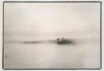 Lake James from Powerhouse Road, Raymond Grubb, 2006, Platinum Palladium Print