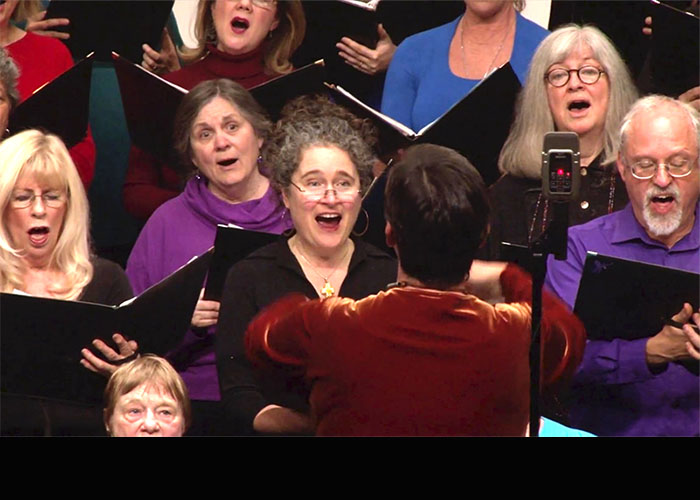 Occidental Community Choir concert: 40 years of 'Music from Home'