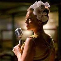 Stella Heath in The Billie Holiday Project