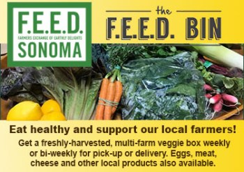 Feed Sonoma: Veggie boxes from local farmers