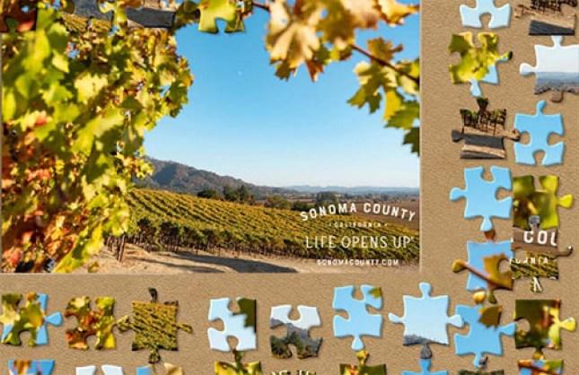 Sonoma County digital puzzles
