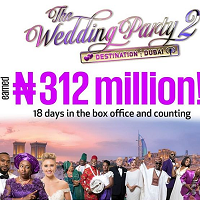 Ebonylife Films The Wedding Party 2 box office 18 days 200x200