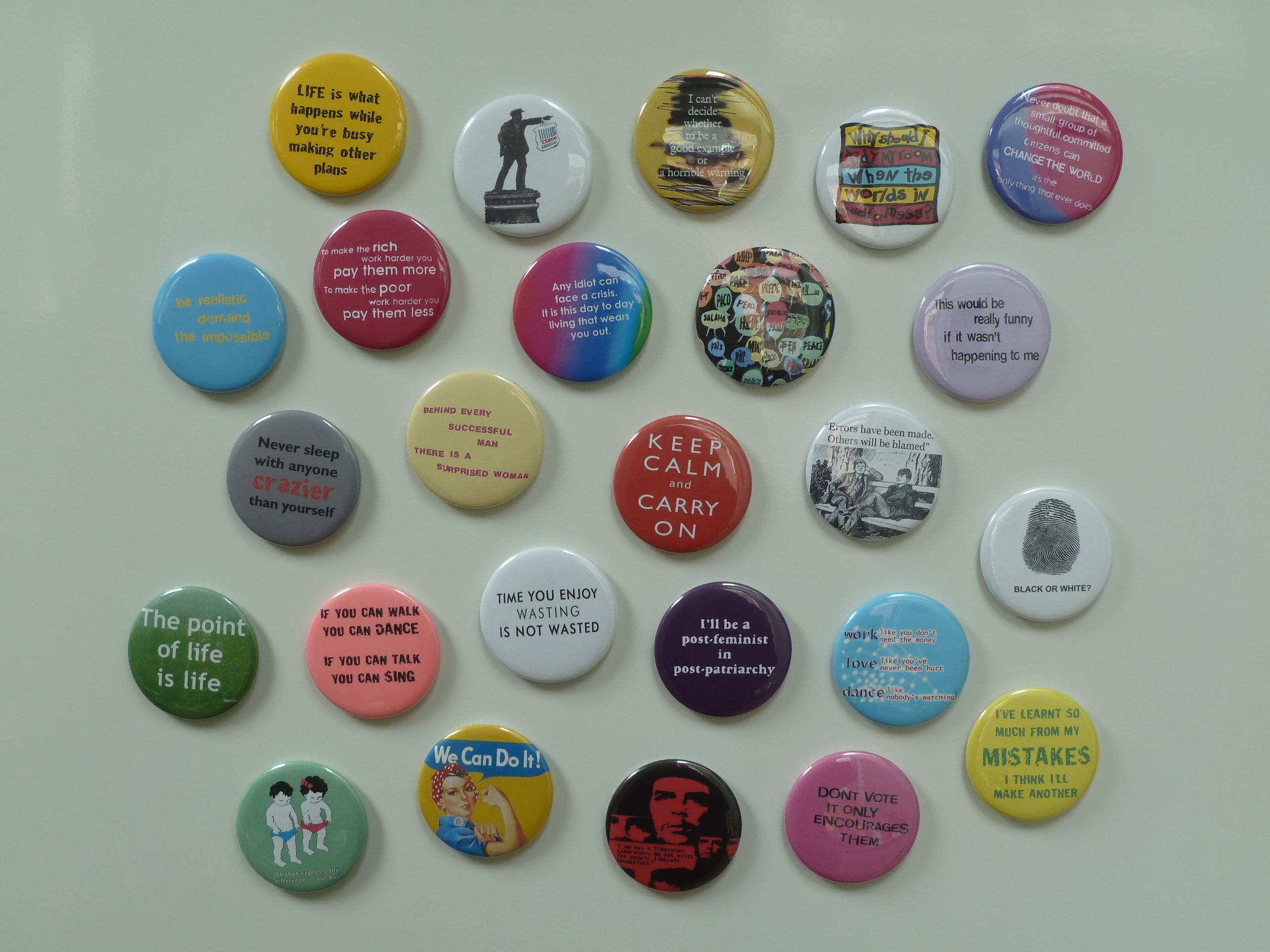 kitchen magnets high top tables leeds postcards button badges and fridge happen upon