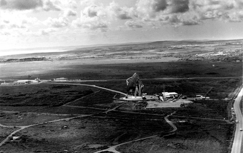 Goonhilly Satellite Earth Station circa 1960