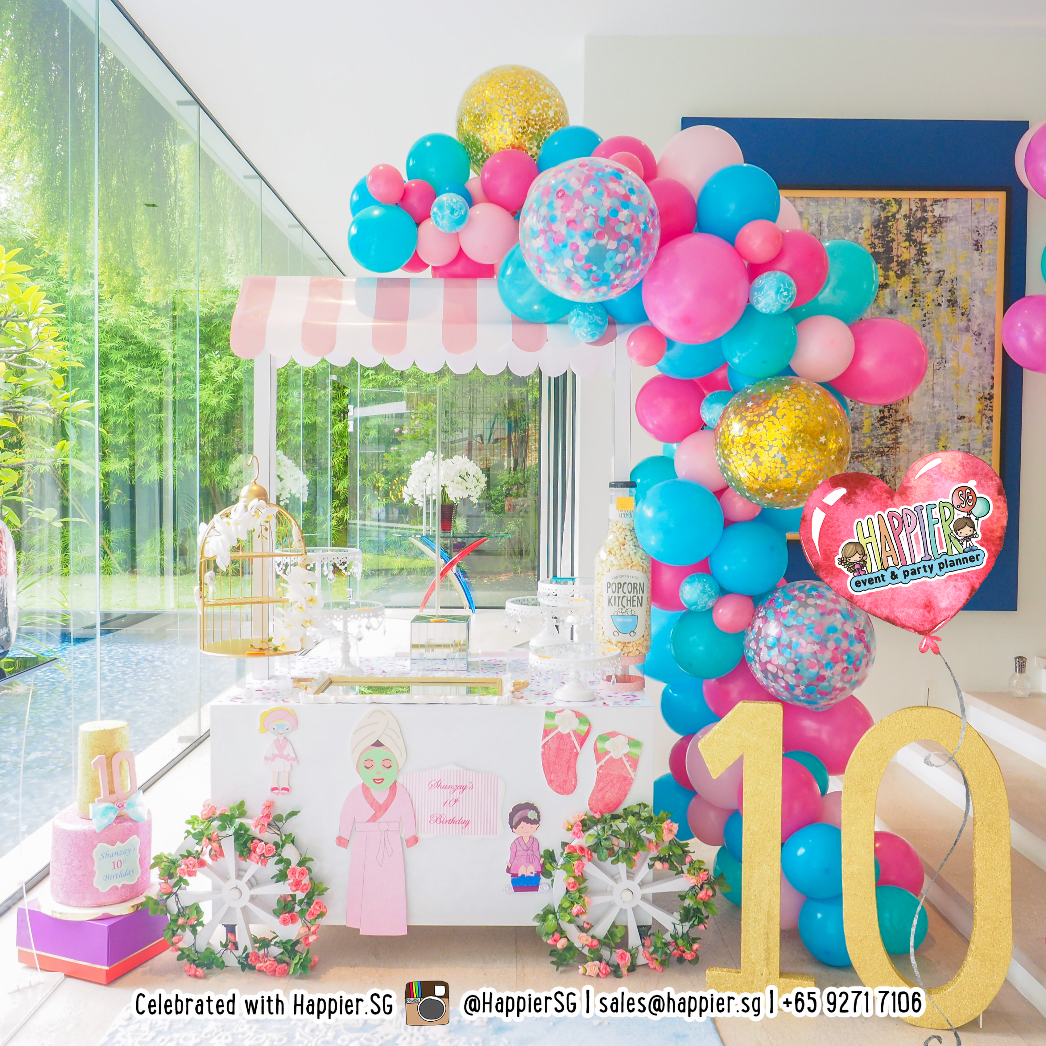 16th birthday party decorations