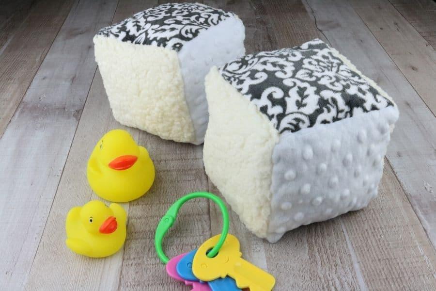 Soft Baby Blocks DIY Sewing Tutorial